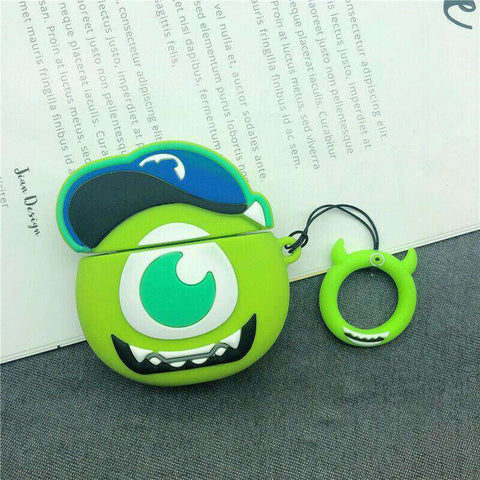Big Mike Monsters Inc Monsters University Pixar Apple Airpods Case FREE SHIPPING