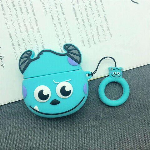 Big Sulley Monsters Inc Monsters University Pixar Apple Airpods Case FREE SHIPPING