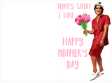 Bruno Mars Thats What I Like Mothers Day Card (Plays Actual Song)