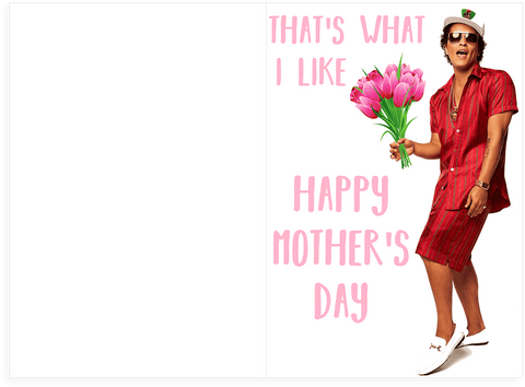 Bruno mars thats what i like mothers day card plays actual song bruno mars thats what i like mothers day card plays actual song m4hsunfo