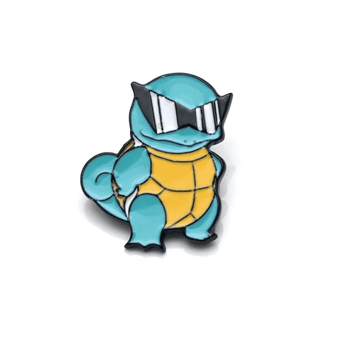Free Cool Squirtle Starter Pokemon Enamel Pin Just Pay Shipping
