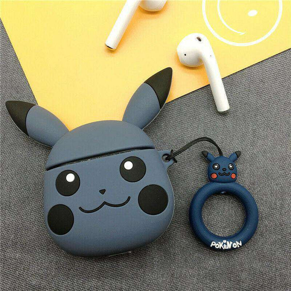 Pikachu Pokemon Back Apple Airpods Case