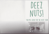 Deez Nuts Birthday Card (PLAYS MEME SOUND)