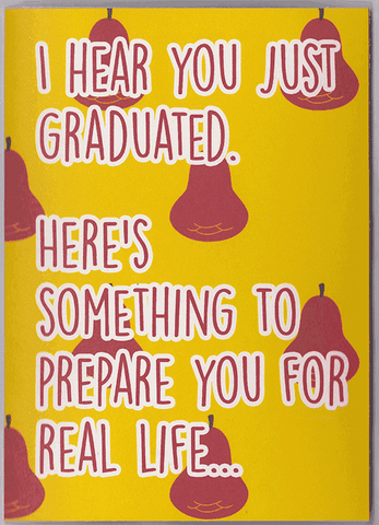 Deez Nuts Graduation Card (PLAYS MEME SOUND)