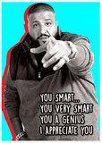 DJ Khaled Keys To Success Postcard Set