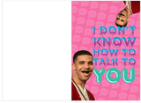 Drake Rihanna Don't Know How To Talk To You Too Good Birthday Card (PLAYS ACTUAL SONG)