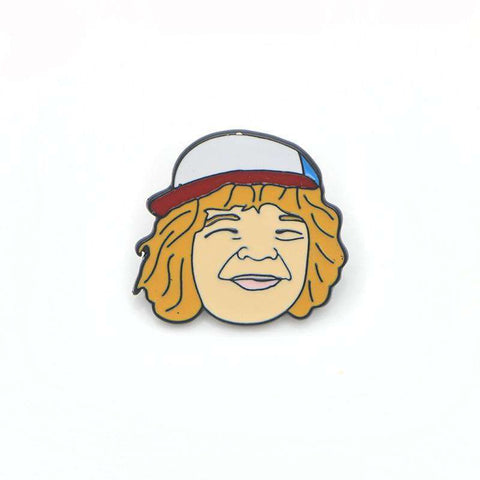 Free Dustin Henderson Stranger Things Enamel Pin Just Pay Shipping