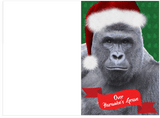 Dicks Out For Harambe The Gorilla Holiday Christmas Card (PLAYS MEME SOUND)