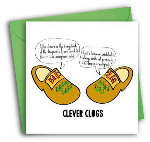 Clever clogs funny happy graduation card congratulations greeting clever clogs funny happy graduation card congratulations greeting card free shipping m4hsunfo
