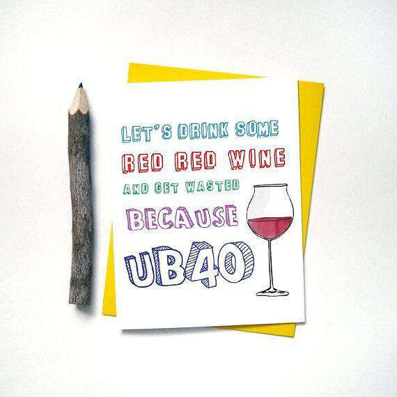 Cards Valentine S Day Have A Cocktail And Get Over It Funny Happy Birthday Card New Collectibles Holiday Seasonal