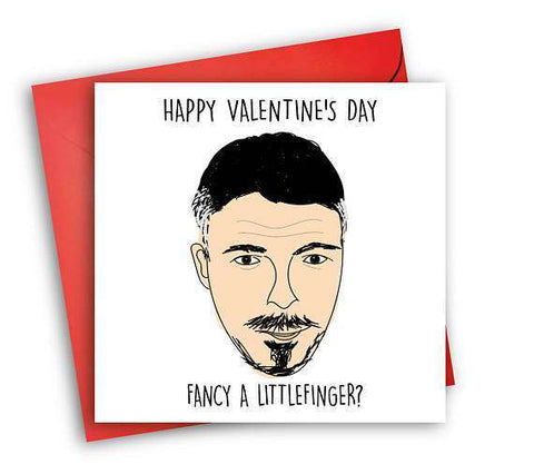 Game Of Thrones Littlefinger Funny Anniversary Card Valentines Day Card Love Card FREE SHIPPING