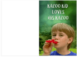 Kazoo Kid Anniversary & Valentine's Day Love Card (PLAYS ACTUAL SOUND)