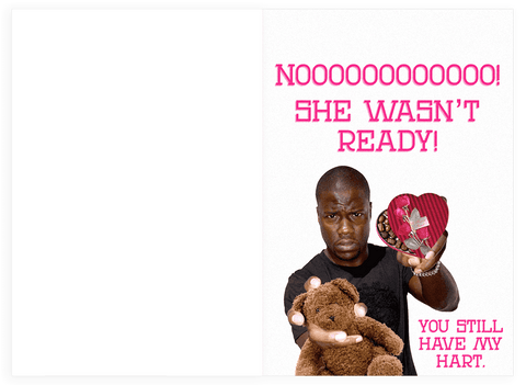 kevinhart valentines inside_large?v=1516251833 kevin hart x she wasn't ready for valentine's day card with sound