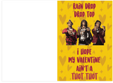 Migos Bad and Boujee Rain Drop Drop Top Valentine's Day Card (PLAYS ACTUAL SONG)