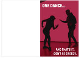 Drake One Dance Birthday Card (PLAYS ACTUAL SONG)