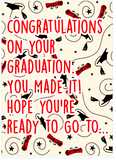 Rihanna Work Graduation Card (PLAYS ACTUAL SONG)