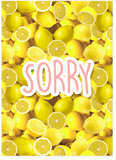 Beyonce Lemonade Sorry Ain't Sorry Card (PLAYS ACTUAL SONG)