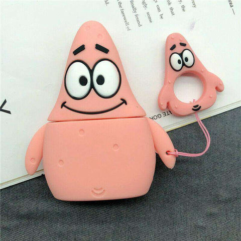 Patrick The Star Apple Airpods Case FREE SHIPPING