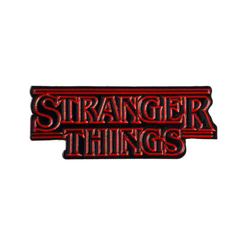 Free Stranger Things Logo Enamel Pin Just Pay Shipping