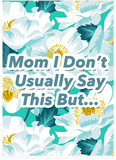 Snoop Dogg Thug Life Mother's Day Card (Plays Meme Sound)