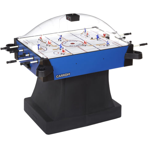 Picture of Carrom Signature Stick Hockey On Pedestal in Blue