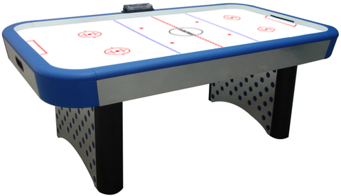 Imperial 7u0027 Playmaker Air Hockey Table With Electronic Scoring