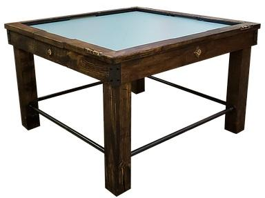 Picture of Performance Games Tradewind 234 RP Model in Dark Walnut Stain