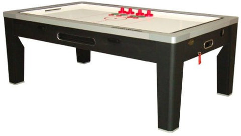 Picture of Berner 6-in-1 Multi-Game Table in Black