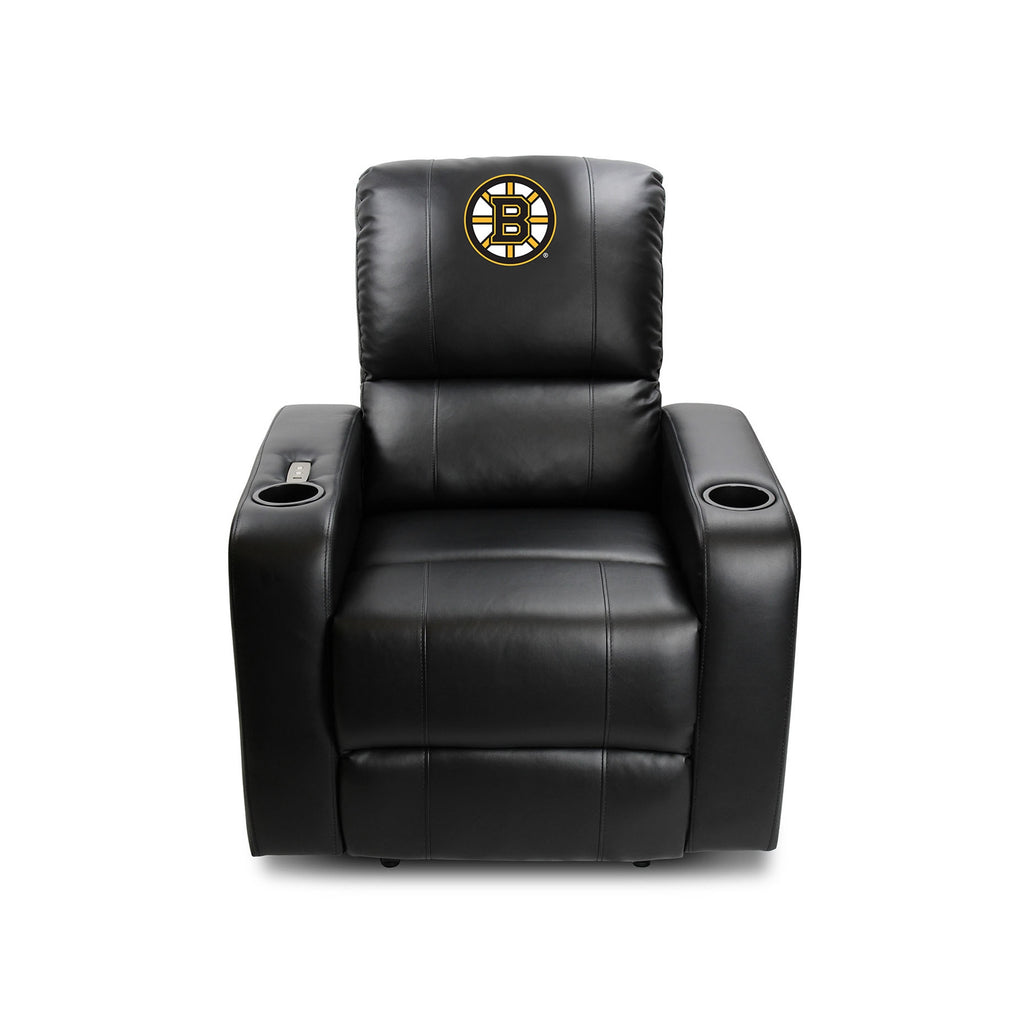Picture of Imperial Boston Bruins Power Theater Recliner With USB Port