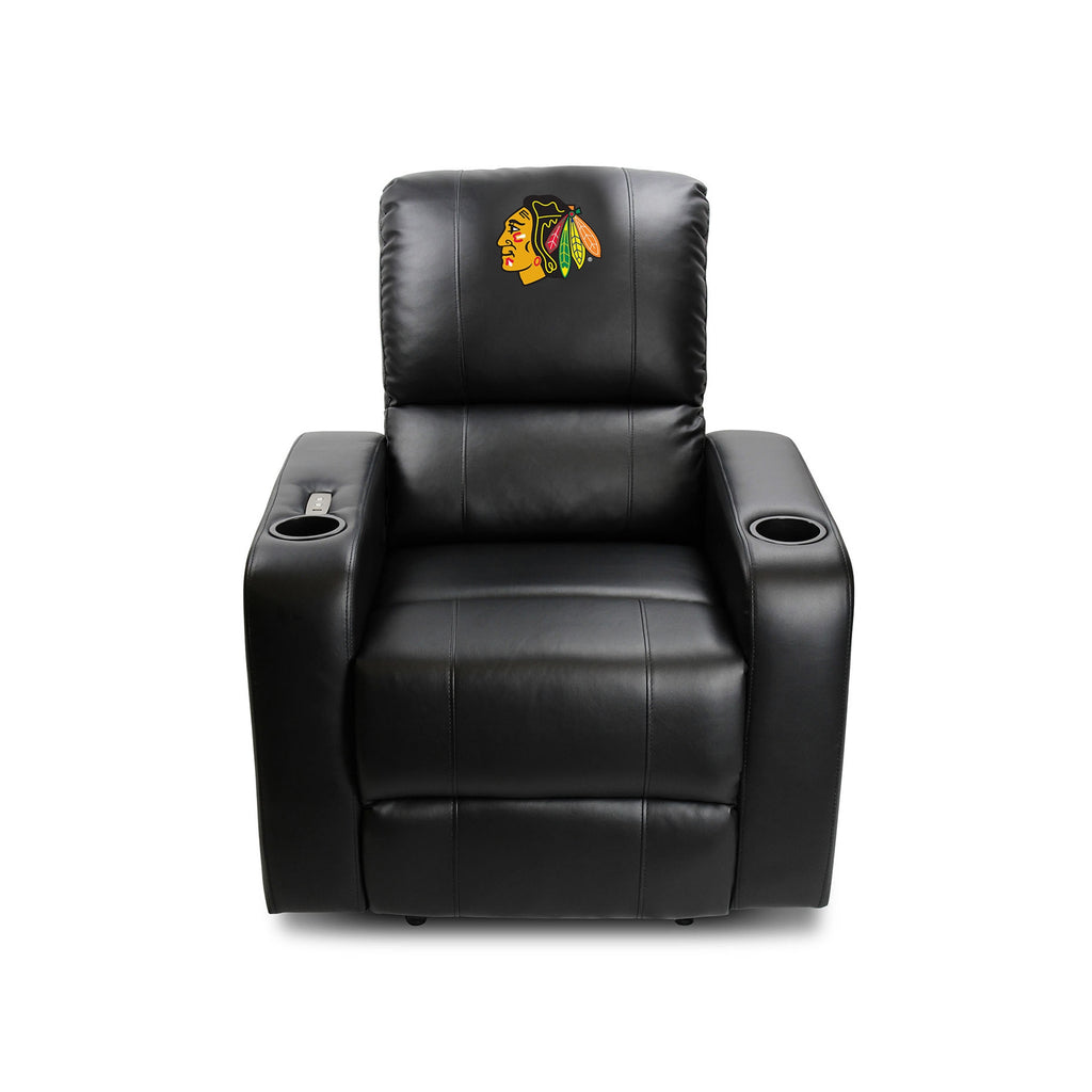 Picture of Imperial Chicago Blackhawks Power Theater Recliner With USB Port