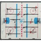 Shelti Breakout Home Dome Hockey Table - Black