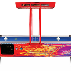 Gold Standard Games 8' GOLD FLARE ELITE Air Hockey Table (Coin Op)