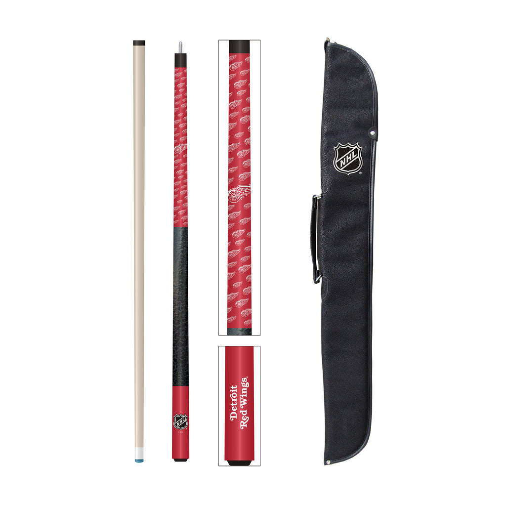 Imperial Detroit Red Wings® Cue and Case Set