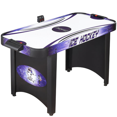 Picture of Hathaway 4' Hat Trick Air Hockey Table in Black/Blue
