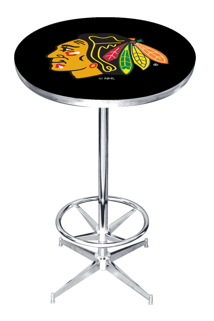 Picture of Imperial Chicago Blackhawks Pub Table