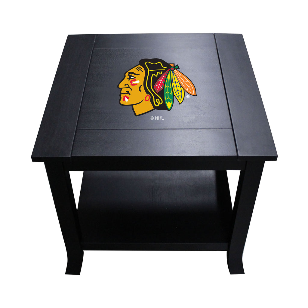 Picture of Imperial Chicago Blackhawks Side Table