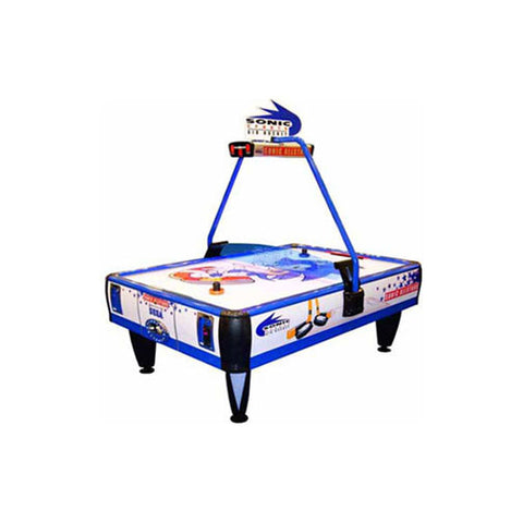 Sega Sonic Sports Air Hockey Table (2 & 4 Player) - Coin