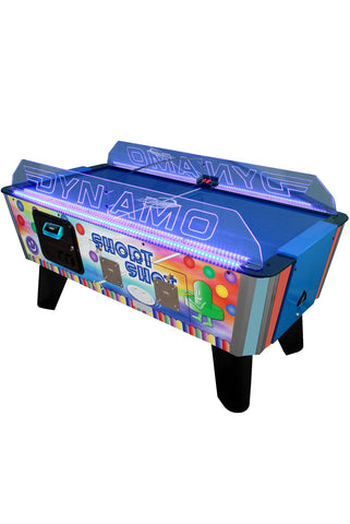 Dynamo 5' Short Shot Air Hockey Table (Coin)