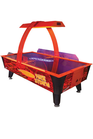 Dynamo 8' Fire Storm Home Air Hockey Table