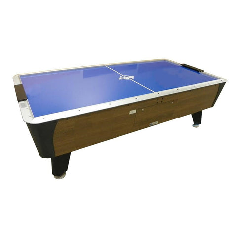 Dynamo Pro Style 7' Branded Oak Air Hockey Table