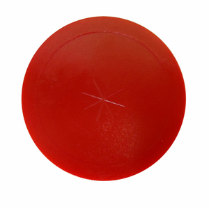 Gold Standard Games Red Air Hockey Lexan 3 ¼ Puck - 3 Pack