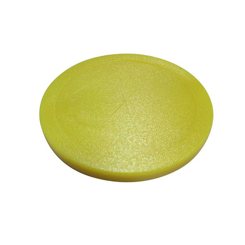 Gold Standard Games Yellow Air Hockey Lexan 3 ¼ Puck - 3 Pack