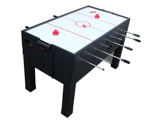 Picture of Berner 13-in-1 Combination Game Table in Black