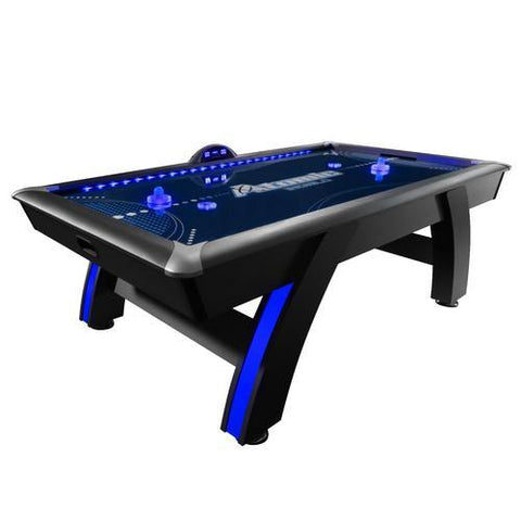 "Atomic 90"" Indiglo LED Light Up Arcade Air-Powered Hockey Table"