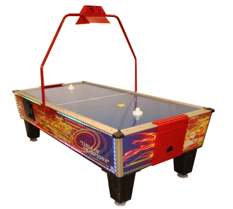 Gold Standard Games 8' GOLD FLARE PLUS Air Hockey Table (Coin Op)