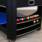 Hathaway Triple Threat 6 ft. 3-in-1 Multi Game Table