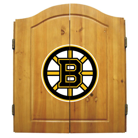 Imperial Boston Bruins Dart Cabinet Set