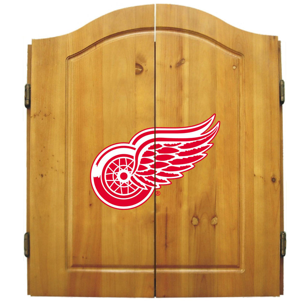 Imperial Detroit Red Wings Dart Cabinet Set