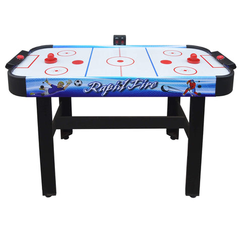 Hathaway Rapid Fire 42-in 3-in-1 Air Hockey Multi-Game Table