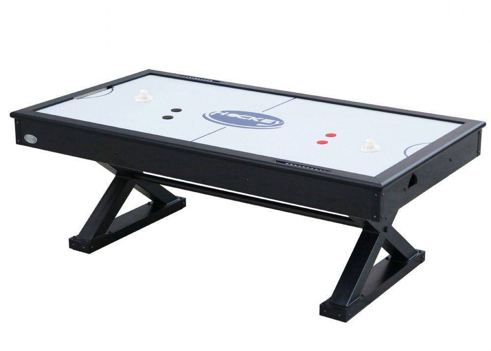 "Berner Billiards ""The X-Treme"" 7 foot Air Hockey in Black"
